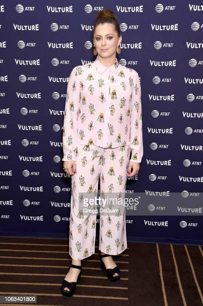 Rachel Bloom attends Vulture Festival Los Angeles 2018 at The Hollywood Roosevelt Hotel on November 18, 2018 in Los Angeles, California.