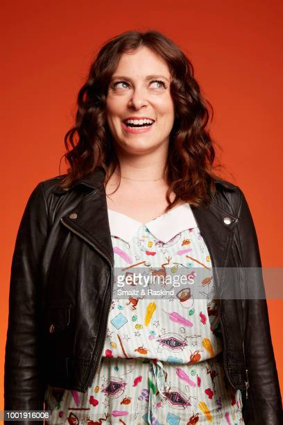 Rachel Bloom from The CW Television Network's 'Crazy Ex-Girlfriend' poses for a portrait in the Getty Images Portrait Studio powered by Pizza Hut at...
