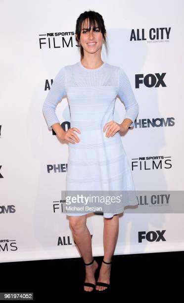 Rachel Bonnetta attends the Fox Sports Phenoms LA Premiere on May 23 2018 in Los Angeles California