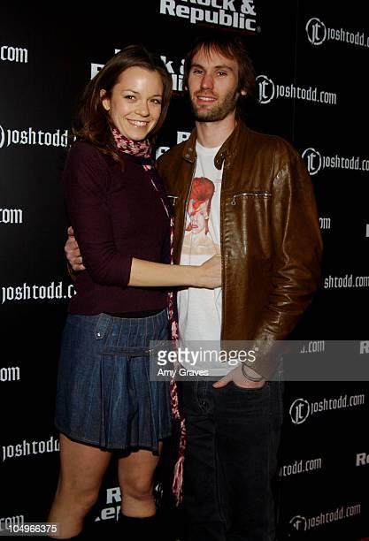 Rachel Boston and Brad Hargreaves of Third Eye Blind