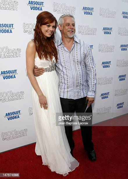 Rachel Boston and Steven Wolfe arrive at the Los Angeles premiere of Days Of Summer at the Egyptian Theatre on June 24 2009 in Hollywood California