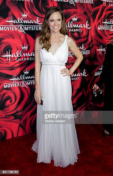 Rachel Boston attends Hallmark Channel Movies and Mysteries Winter 2017 TCA Press Tour at The Tournament House on January 14 2017 in Pasadena...