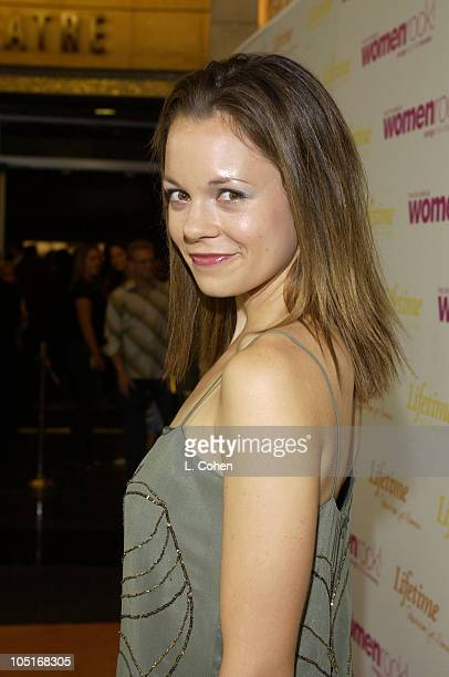 Rachel Boston during The 4th Annual Women Rock! Songs From The Movies - Arrivals at Kodak Theater in Hollywood, California, United States.