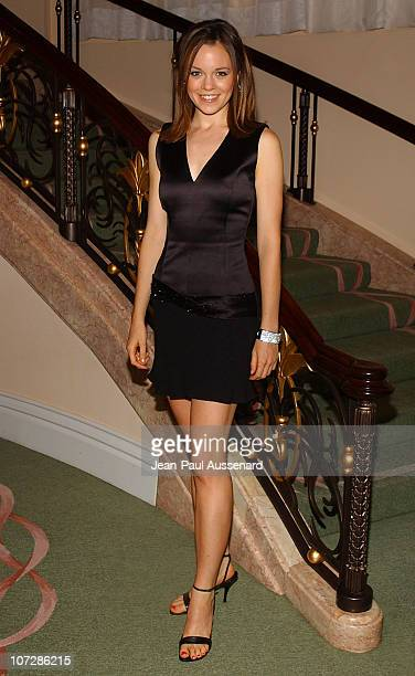 "Rachel Boston during The Museum of Television and Radio Honors CBS News's Dan Rather and ""Friends"" Producing Team - Inside at Beverly Hills Hotel in..."