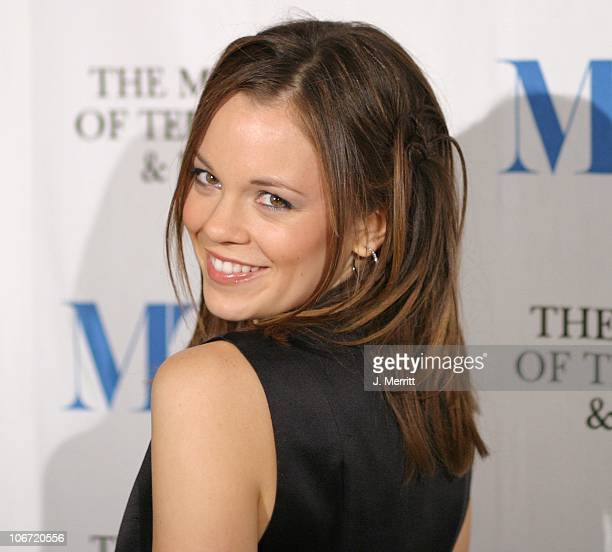 Rachel Boston during The Museum Of Television & Radio To Honor CBS News's Dan Rather And Friends Producing Team at The Beverly Hills Hotel in Beverly...