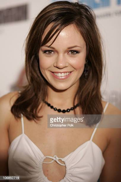"Rachel Boston during Trident White Presents ""Black and White Party"" Hosted by McG and Stephanie Savage Benefitting Martin Scorsese's Film Foundation..."