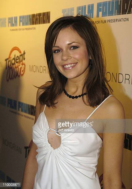 Rachel Boston during Trident White Presents Black and White Party Hosted by McG and Stephanie Savage Benefitting Martin Scorsese's Film Foundation -...