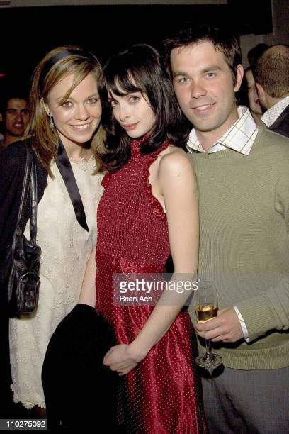 Rachel Boston Krysten Ritter and Kevin Mann during 5th Annual Tribeca Film Festival 'Fifty Pills' Premiere After Party at Stereo in New York City...