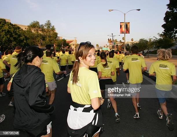 Rachel Boston participates in the Nike Run Hit Wonder 5k/10k Race