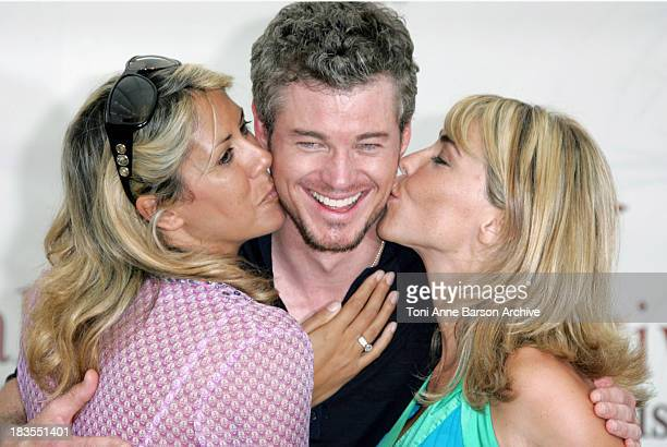 Rachel Bourlier Eric Dane and Nathalie Vincent during 2007 Monte Carlo Television Festival Grey's Anatomy Eric Dane Photocall at Grimaldi Forum in...