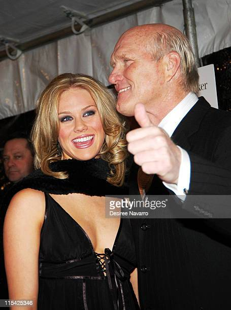 Rachel Bradshaw and Terry Bradshaw during Failure to Launch New York City Premiere Arrivals at Clearview Chelsea West Theater in New York New York...