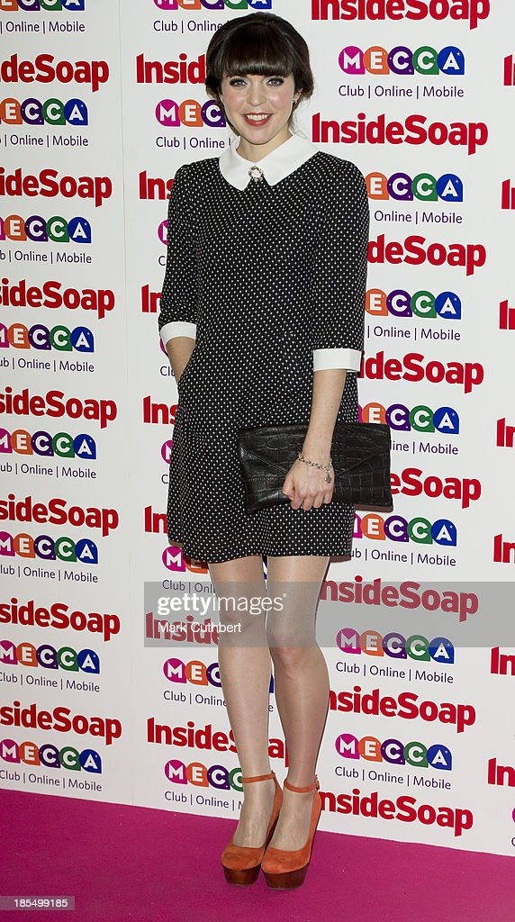 Rachel Bright attends the Inside Soap Awards at Ministry Of Sound on October 21, 2013 in London, England.