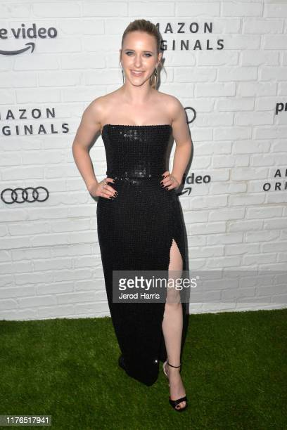 Rachel Brosnahan arrives at Amazon Prime Video Post Emmy Awards Party 2019 on September 22, 2019 in Los Angeles, California.