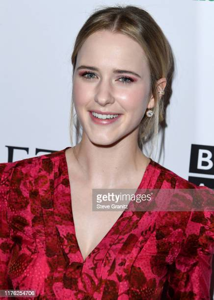 Rachel Brosnahan arrives at the BAFTA Los Angeles BBC America TV Tea Party 2019 at The Beverly Hilton Hotel on September 21 2019 in Beverly Hills...