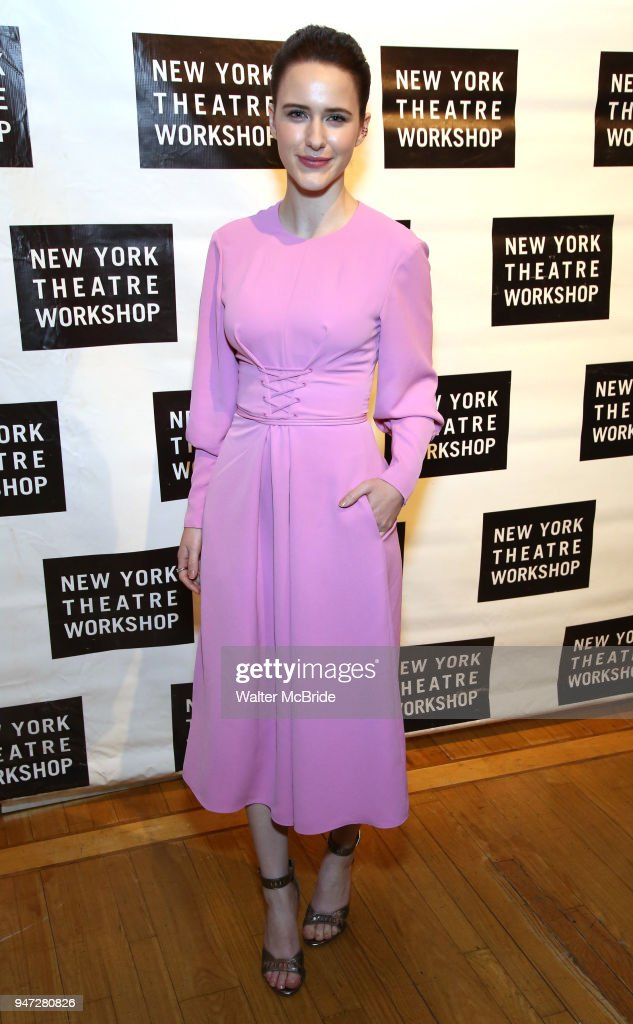Rachel Brosnahan attends the 2018 New York Theatre Workshop Gala at the The Altman Building on April 16, 2018 in New York City.