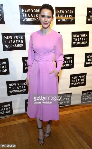 Rachel Brosnahan attends the 2018 New York Theatre Workshop Gala at the The Altman Building on April 16 2018 in New York City