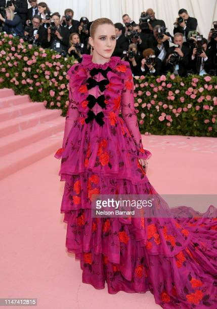 Rachel Brosnahan attends The 2019 Met Gala Celebrating Camp Notes on Fashion at Metropolitan Museum of Art on May 06 2019 in New York City