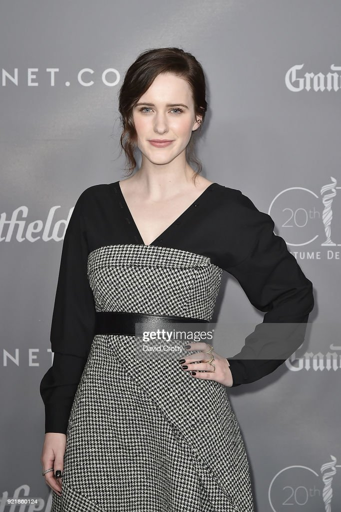 Rachel Brosnahan attends the 20th CDGA (Costume Designers Guild Awards) - Arrivals on February 20, 2018 in Beverly Hills, California.