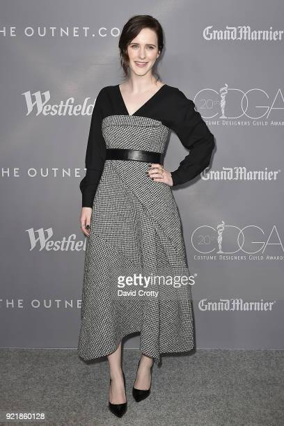 Rachel Brosnahan attends the 20th CDGA Arrivals on February 20 2018 in Beverly Hills California