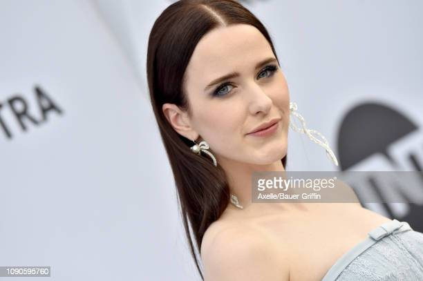 Rachel Brosnahan attends the 25th Annual Screen Actors Guild Awards at The Shrine Auditorium on January 27, 2019 in Los Angeles, California.