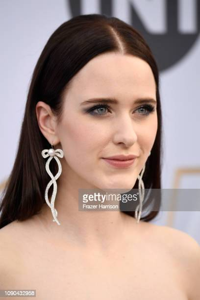 Rachel Brosnahan attends the 25th Annual Screen ActorsGuild Awards at The Shrine Auditorium on January 27 2019 in Los Angeles California