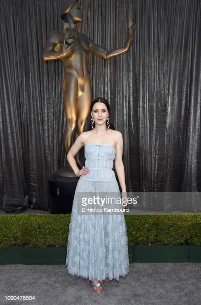 Rachel Brosnahan attends the 25th Annual Screen ActorsGuild Awards at The Shrine Auditorium on January 27, 2019 in Los Angeles, California. 480595