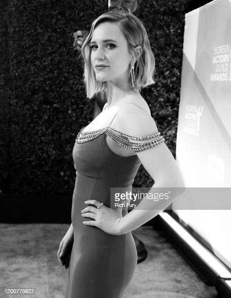 Rachel Brosnahan attends the 26th Annual Screen Actors Guild Awards at The Shrine Auditorium on January 19 2020 in Los Angeles California