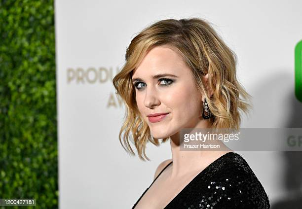 Rachel Brosnahan attends the 31st Annual Producers Guild Awards at Hollywood Palladium on January 18, 2020 in Los Angeles, California.