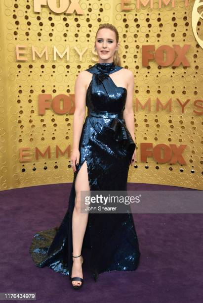 Rachel Brosnahan attends the 71st Emmy Awards at Microsoft Theater on September 22, 2019 in Los Angeles, California.