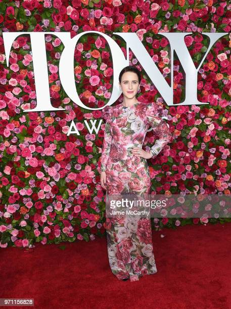 Rachel Brosnahan attends the 72nd Annual Tony Awards at Radio City Music Hall on June 10 2018 in New York City