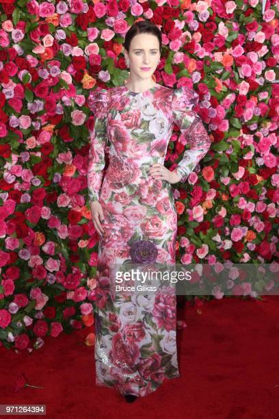 Rachel Brosnahan attends the 72nd Annual Tony Awards on June 10 2018 in New York City