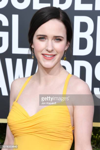 Rachel Brosnahan attends the 76th Annual Golden Globe Awards at The Beverly Hilton Hotel on January 6, 2019 in Beverly Hills, California.