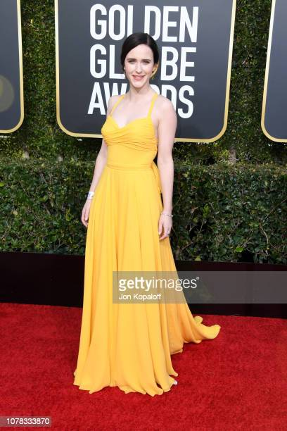 Rachel Brosnahan attends the 76th Annual Golden Globe Awards at The Beverly Hilton Hotel on January 6 2019 in Beverly Hills California