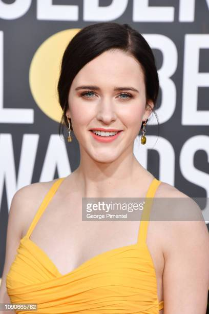 Rachel Brosnahan attends the 76th Annual Golden Globe Awards held at The Beverly Hilton Hotel on January 06, 2019 in Beverly Hills, California.