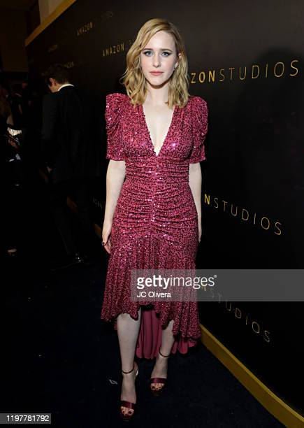 Rachel Brosnahan attends the Amazon Studios Golden Globes After Party at The Beverly Hilton Hotel on January 05, 2020 in Beverly Hills, California.