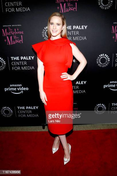 Rachel Brosnahan attends the Making Maisel Marvelous featuring Amazon Prime Original The Marvelous Mrs. Maisel at The Paley Center for Media on...