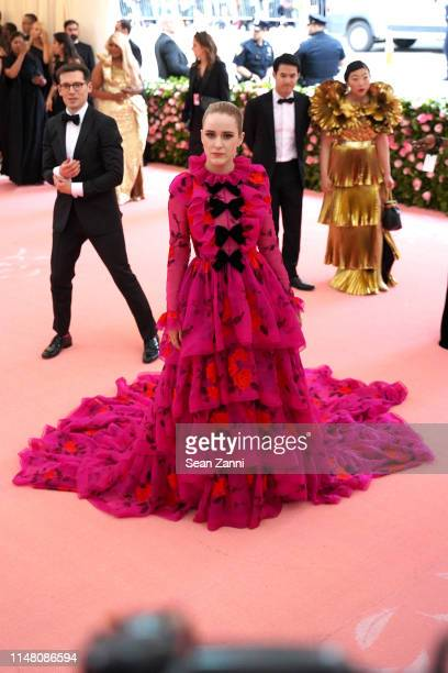 "Rachel Brosnahan attends The Metropolitan Museum Of Art's 2019 Costume Institute Benefit ""Camp: Notes On Fashion"" at Metropolitan Museum of Art on..."