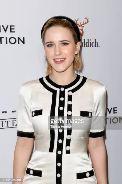 Rachel Brosnahan attends the The Creative Coalition's Spotlight Initiative Gala Awards Dinner at Kia Telluride Supper Suite on January 25, 2020 in...
