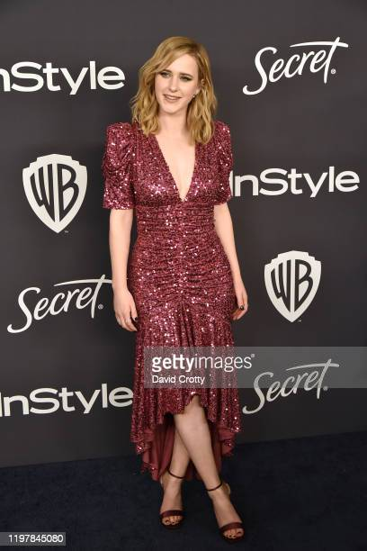 Rachel Brosnahan attends the Warner Brothers and InStyle 21st Annual Post Golden Globes After Party Sponsored By L'Oreal Paris & Secret at Beverly...