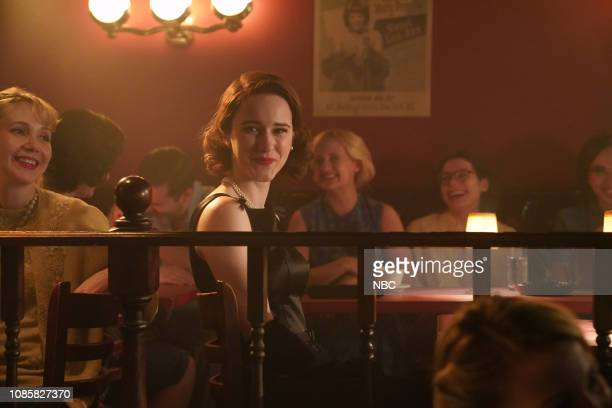 LIVE Rachel Brosnahan Episode 1756 Pictured Host Rachel Brosnahan as Midge Maisel during the Comedy Club sketch on Saturday January 19 2019