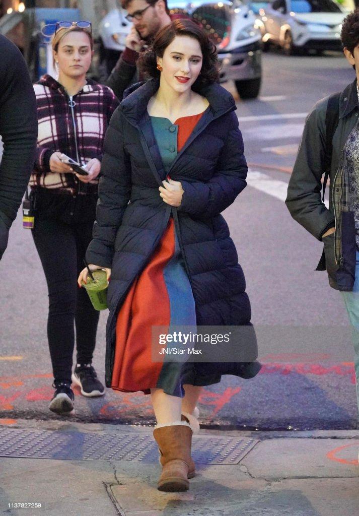 NY: Celebrity Sightings In New York City - April 17, 2019