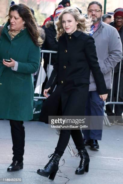 Rachel Brosnahan is seen on December 18, 2019 in New York City.