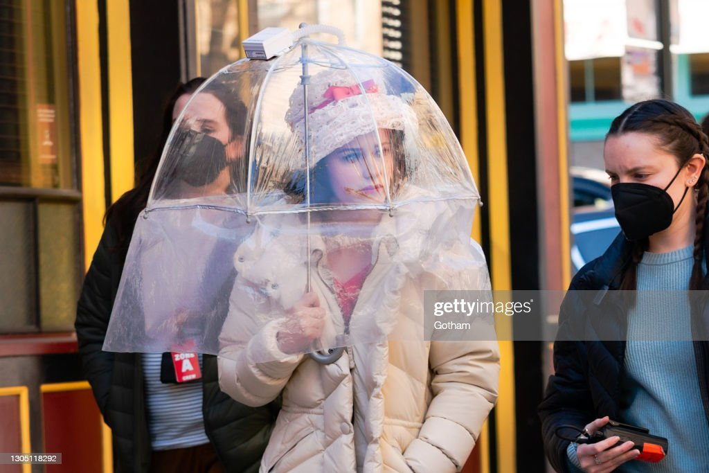 Celebrity Sightings In New York City - March 03, 2021 : News Photo