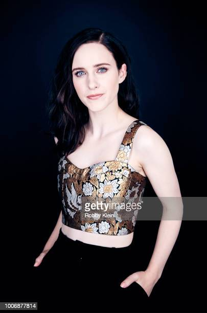 Rachel Brosnahan of Amazon's 'The Marvelous Mrs Maisel' poses for a portrait during the 2018 Summer Television Critics Association Press Tour at The...