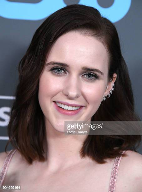 Rachel Brosnahan poses at the The 23rd Annual Critics' Choice Awards at Barker Hangar on January 11 2018 in Santa Monica California