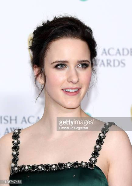 Rachel Brosnahan poses in the press room during the EE British Academy Film Awards at Royal Albert Hall on February 10 2019 in London England