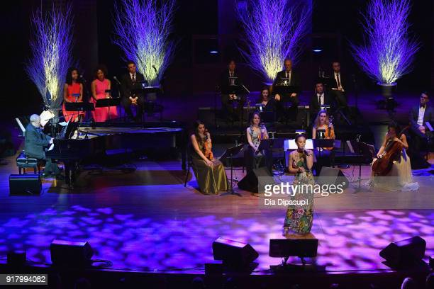 Rachel Brown performs onstage at the Winter Gala at Lincoln Center at Alice Tully Hall on February 13 2018 in New York City