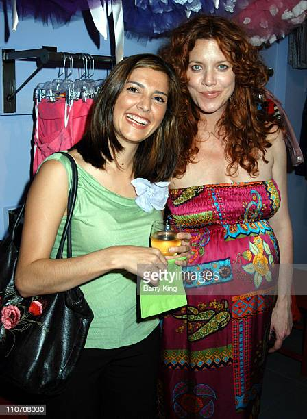 Rachel Campos and Lisa Akey during Sugar Baby Kid's Boutique Store Opening at Sugar Baby in Los Angeles California United States