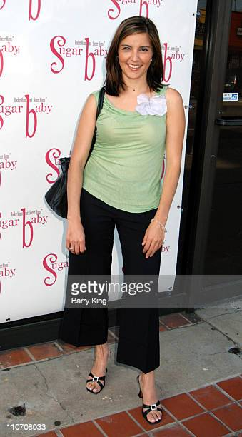 Rachel Campos during Sugar Baby Kid's Boutique Store Opening at Sugar Baby in Los Angeles California United States