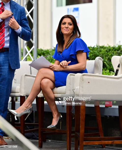 Rachel Campos-Duffy celebrates Independence Day on 'Fox & Friends Weekend' on July 04, 2021 in New York City.